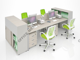 Комплект MDF-K02 на Office-mebel.ru
