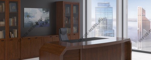 Мебель для кабинета Kingston на Office-mebel.ru