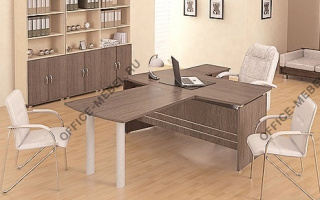 Модерн - Кабинеты руководителя из материала ЛДСП из материала ЛДСП на Office-mebel.ru