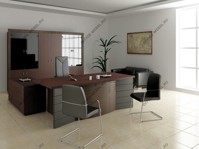 Мебель для кабинета Sirius на Office-mebel.ru
