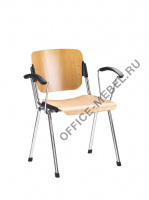 ERA arm wood chrome на Office-mebel.ru