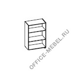 Стеллаж Ca3C80 на Office-mebel.ru
