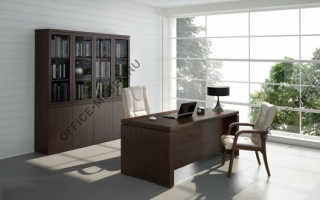 Mark - Кабинеты руководителя из материала Массив из материала Массив на Office-mebel.ru