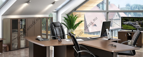 Мебель для кабинета Консул на Office-mebel.ru