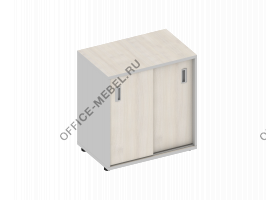 Тумба, двери-купе узкая MDF410 на Office-mebel.ru