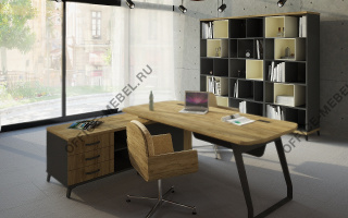 Loft - Кабинеты руководителя из материала ЛДСП из материала ЛДСП на Office-mebel.ru