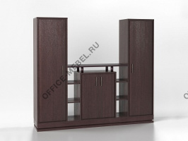 "Стенка ""Нортон"" 05697 на Office-mebel.ru"