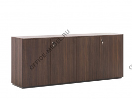 Шкаф низкий COTTO L.204 H.81 на Office-mebel.ru