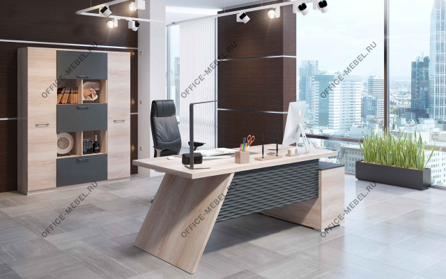 Мебель для кабинета Irvin на Office-mebel.ru