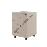 Тумба подкатная с 3 ящиками ZOM275303 на Office-mebel.ru