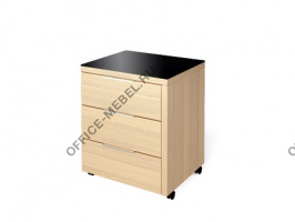 Тумба подкатная (левая/правая) КТ-61 L/R  на Office-mebel.ru
